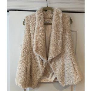 Calvin Klein- Faux Fur Vest